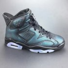 Cheap Womens Jordan 6 Chameleon Black/Green