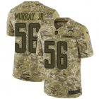 Cheap Nike Chargers #56 Kenneth Murray Jr Camo Youth Stitched NFL Limited 2018 Salute To Service Jersey