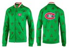 Cheap NHL Montreal Canadiens Zip Jackets Green-2
