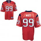 Cheap Texans #99 J.J.Watt Red Stitched NFL Jersey