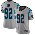 Cheap Nike Panthers #92 Zach Kerr Silver Men's Stitched NFL Limited Inverted Legend Jersey