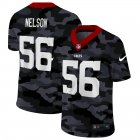 Cheap Indianapolis Colts #56 Quenton Nelson Men's Nike 2020 Black CAMO Vapor Untouchable Limited Stitched NFL Jersey