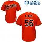 Cheap Orioles #56 Darren O'Day Orange Cool Base Stitched Youth MLB Jersey