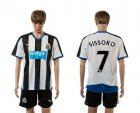 Cheap Newcastle #7 Sissoko Home Soccer Club Jersey