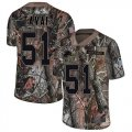 Cheap Nike Lions #51 Jahlani Tavai Camo Men's Stitched NFL Limited Rush Realtree Jersey