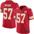 Cheap Nike Chiefs #57 Breeland Speaks Red Team Color Men's Stitched NFL Vapor Untouchable Limited Jersey
