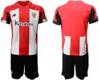 Cheap Athletic Bilbao Blank Home Soccer Club Jersey