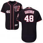 Cheap Nationals #48 Javy Guerra Navy Blue Flexbase Authentic Collection Stitched MLB Jersey