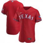 Cheap Texas Rangers Men's Nike Red Alternate 2020 Authentic MLB Jersey
