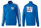 Cheap NFL New York Giants Team Logo Jacket Blue_3