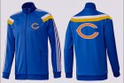 Cheap NFL Chicago Bears Team Logo Jacket Blue_2