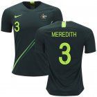 Cheap Australia #3 Meredith Away Soccer Country Jersey