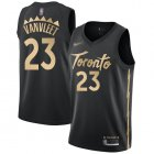 Cheap Raptors #23 Fred VanVleet Black Basketball Swingman City Edition 2019-20 Jersey