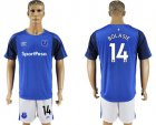 Cheap Everton #14 Bolasie Home Soccer Club Jersey