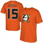 Cheap Anaheim Ducks #15 Ryan Getzlaf Reebok Alternate Name & Number T-Shirt Orange