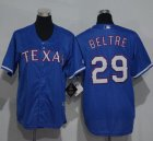 Cheap Rangers #29 Adrian Beltre Blue Cool Base Stitched Youth MLB Jersey