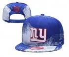 Cheap New York Giants Team Logo Royal White Adjustable Hat YD