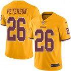 Cheap Nike Redskins #26 Adrian Peterson Gold Youth Stitched NFL Limited Rush Jersey