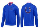 Cheap NFL Indianapolis Colts Team Logo Jacket Blue_1
