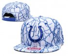 Cheap Colts Team Logo White Adjustable Hat TX
