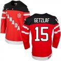 Cheap Olympic CA. #15 Ryan Getzlaf Red 100th Anniversary Stitched NHL Jersey