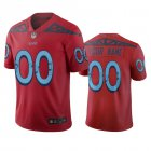 Cheap Tennessee Titans Custom Red Vapor Limited City Edition NFL Jersey