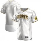 Cheap San Diego Padres Men's Nike White Brown Authentic Alternate Team MLB Jersey