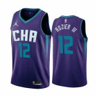 Cheap Nike Hornets #12 Terry Rozier III Purple 2019-20 Statement Edition NBA Jersey