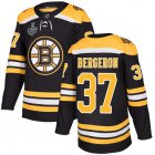 Cheap Adidas Bruins #37 Patrice Bergeron Black Home Authentic Stanley Cup Final Bound Youth Stitched NHL Jersey