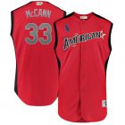Cheap White Sox #33 James McCann Red 2019 All-Star American League Stitched MLB Jersey