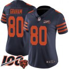 Cheap Nike Bears #80 Jimmy Graham Navy Blue Alternate Women's Stitched NFL 100th Season Vapor Untouchable Limited Jersey
