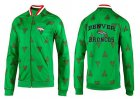 Cheap NFL Denver Broncos Heart Jacket Green