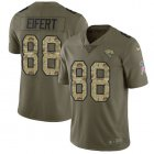 Cheap Nike Jaguars #88 Tyler Eifert Olive/Camo Men's Stitched NFL Limited 2017 Salute To Service Jersey