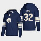 Cheap Toronto Maple Leafs #32 Josh Leivo Blue adidas Lace-Up Pullover Hoodie