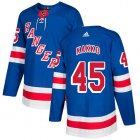 Cheap Adidas Rangers #45 Kappo Kakko Royal Blue Home Authentic Stitched Youth NHL Jersey