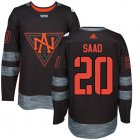 Cheap Team North America #20 Brandon Saad Black 2016 World Cup Stitched NHL Jersey