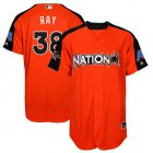 Cheap Diamondbacks #38 Robbie Ray Orange 2017 All-Star National League Stitched Youth MLB Jersey