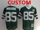 Cheap Men's Custom New York Jets Green Throwback Jersey