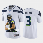 Cheap Seattle Seahawks #3 Russell Wilson Nike Team Hero 2 Vapor Limited NFL 100 Jersey White