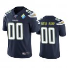 Cheap Los Angeles Chargers Custom Navy 60th Anniversary Vapor Limited NFL Jersey
