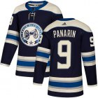 Cheap Adidas Blue Jackets #9 Artemi Panarin Navy Alternate Authentic Stitched Youth NHL Jersey