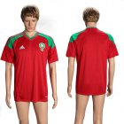 Cheap Morocco Blank Home Soccer Country Jersey