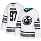Cheap Adidas Oilers #97 Connor McDavid White Authentic 2019 All-Star Stitched Youth NHL Jersey