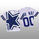 Cheap NFL Dallas Cowboys Custom White Men's Mitchell & Nell Big Face Fashion Limited NFL Jersey