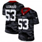 Cheap Indianapolis Colts #53 Darius Leonard Men's Nike 2020 Black CAMO Vapor Untouchable Limited Stitched NFL Jersey