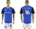 Cheap Everton #16 Mccarthy Home Soccer Club Jersey