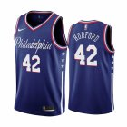 Cheap Nike 76ers #42 Al Horford Navy 2019-20 City Edition Swingman NBA Jersey
