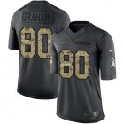 Cheap Nike Bears #80 Jimmy Graham Black Youth Stitched NFL Limited 2016 Salute to Service Jersey