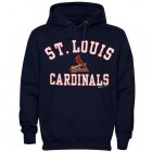 Cheap St.Louis Cardinals Fastball Fleece Pullover Navy Blue MLB Hoodie