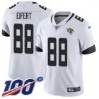 Cheap Nike Jaguars #88 Tyler Eifert White Youth Stitched NFL 100th Season Vapor Untouchable Limited Jersey